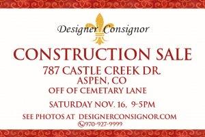Construction-sale