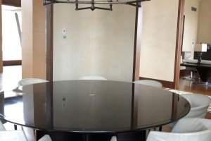 Gorgetti Black Dining table (not chairs)