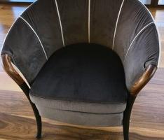 2x Gorgeitti Velvet Side Chairs