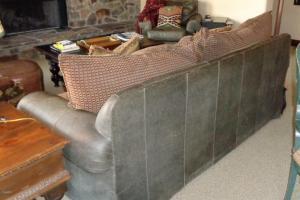 165 B Leather Sleeper Sofa