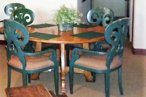 172A Round dining set