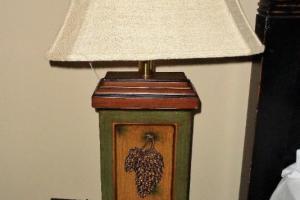 196 Pair Pine Cone Lamps