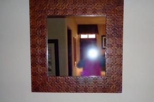 225 Tin Frameed Mirror
