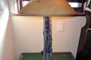 194 Pair Twig Look Lamps