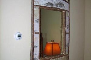 218 Bark Frame Mirror