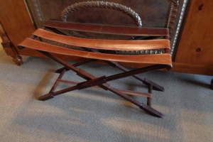 220 Leather Strap Luggage Rack
