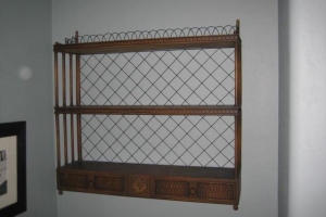 223 Vintage Wall Shelf